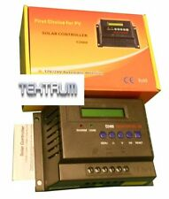 TEKTRUM 50A 12V/24V SOLAR PANEL CHARGE CONTROLLER WITH LCD DISPLAY