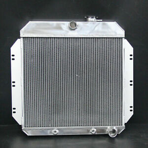 Aluminum Radiator 6062 Fit Chevrolet Chevy C20 1960-1962 L4 3Row AT 52mm