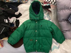 Ralph Lauren Boy's Coat Size 3 VGC