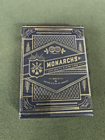 Blue Monarchs V2 Version! Playing Cards Deck by Theory 11 RARE Discontinued V2