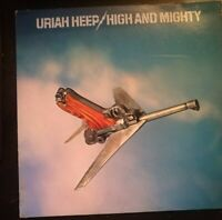 URIAH HEEP - HIGH AND MIGHTY *ANNO1976 - DISCO VINILE 33 GIRI* N.188