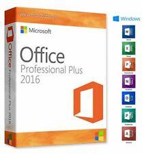 Microsoft Office 2016 Professional plus 32/64 bits license key Original 100%