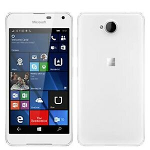 BNIB Microsoft Lumia 650 RM-1152 Single-SIM White 16GB Factory Unlocked 4G GSM