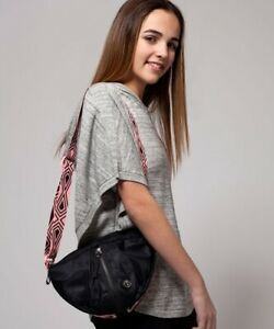 Lululemon Ivivva Black Crafts Cuts Out & About Crossbody Bag One Size
