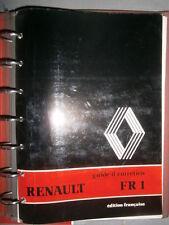 RVI Renault car bus FR1 : notice d'entretien ne2/3844-02