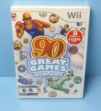 Family Party 90 Great Games - Nintendo Wii BRAND NEW FACTORY SEALED