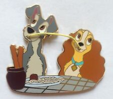 Disney Pin 84468 DisneyStore.com 110th Legacy Collection Lady and the Tramp LE