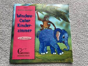 Window Color Kinderzimmer, Bastelheft, Gudrun Hettinger