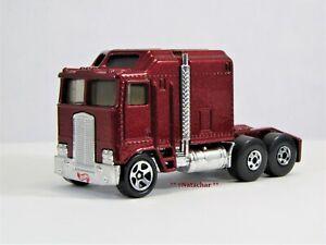 Hot Wheels 1995 #483 Thunder Roller Big Rig Semi Truck Red Loose