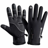 Winter Cycling Ski Outdoor Gloves Touch Screen Waterproof Warm Men Women Gloves