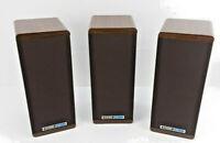 Three (3) KOSS M80 Plus Dynamite Bookshelf Speakers in Great Condition -Set of 3