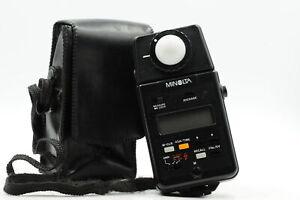 Minolta Auto Meter IIIF Light Meter Flash/Ambient #858