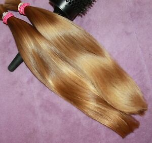 HUMAN HAIR HAIRCUT 13 IN 3.7oz BABYFINE CHILDS BLONDE BLENDS PONYTAILS B70