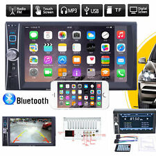 Mirror Link Bluetooth Touch In Dash Car Stereo Audio MP3 Player FM Radio AUX GPS