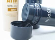 NEW Hair Building Fibers Powder Thickening Bald BLACK ,BROWN Dark Medium Light