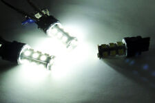 2x WHITE 18 SMD LED 3157 3156 for CHEVROLET DRL Daytime Running Light Bulb 6000K