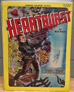 Heartburst GN (1984 Marvel) 1-1ST Heartburst - RICK VEITCH MARVEL - VF/NM
