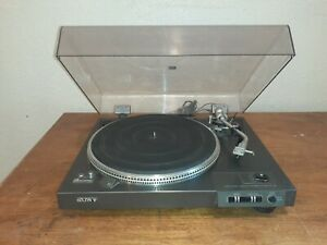 Rare Sony PS-X6 Direct-Drive Full-Automatic Turntable  Made In Japan!