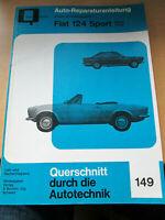 Reparaturanleitung Fiat 124 Spider / Coupe  - alte Ausgabe