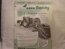 ARPS TRENCH-HOG  c 1959 sales brochure