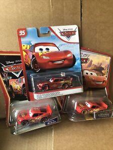 DISNEY CARS DIECAST Lightning Bundle -Rusteze Racing, Dirt Track See Description