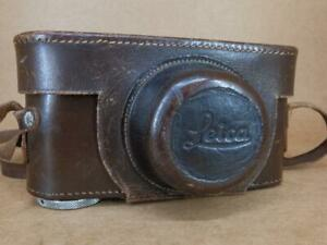 "Leather Ever-Ready Case for Leitz Leica II / IIIa / IIIb with 3/8"" thread"