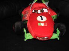 NEW Disney Pixar CARS Movie Francesco Bernoulli Plush Toy Red Green White