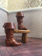 Brown Boots Tangled Flynn Ryder Prince Disney Mattel Doll Barbie Princess