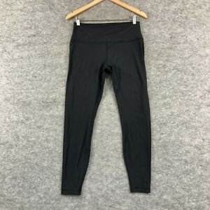 Lululemon Womens Leggings Size XL Black 7/8 Length Stretch Fitted 283.10
