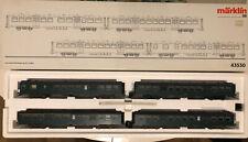 Marklin SNCB M2 43530 4 Coach Set.