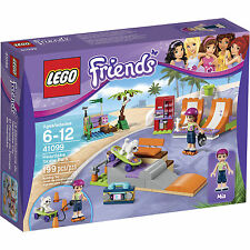 41099 HEARTLAKE SKATE PARK lego friends set NEW legos MIA freinds skateboard