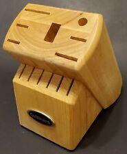 Cuisinart Solid Wood Knife Block