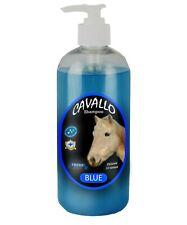 Horse Shampoo Cavallo Sulfate Free 500ml Blue(Baby Powder)