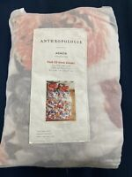 Anthropologie Pair Of King Shams Agenta Collection Quilted Floral