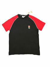 England Rugby Navy Blue T Shirt Official Merchandise Union League Medium M Nuova con etichetta