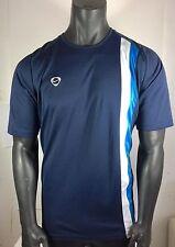 Men's Nike Fit Logo Soccer Short Sleeve Shirt Size X-Large Blue