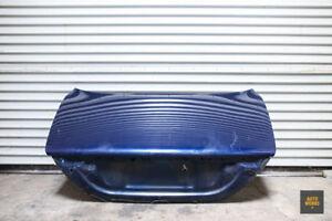 04-07 Jaguar X350 XJ8 XJR Vanden Plas Trunk Lid Shell Blue OEM