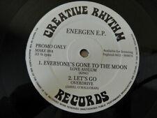 Creative Rhythm Energen Hard Core Rave 1991 ep promo only 004 LP vinyl record