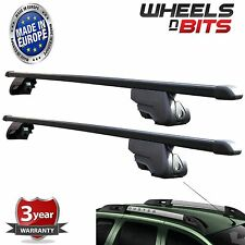 Black Steel Roof Rack for Integrated Bars Fiat Panda mk3 & Cross 2014 to 2017