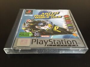MOTO RACER WORLD TOUR EDITION PLATINUM FR PAL SONY PLAYSTATION 1 PS1 COMPLET