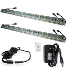 Kitchen LED Under Cabinet Counter Lighting Bar Kit Wall Lamp Warm White (4pcs)