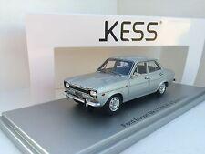 Kess Model 1/43 Ford Escort MkI 1100Xl Lhd 4-door 1973 Silver Art. KE43015010