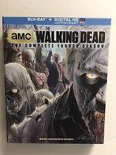 The Walking Dead: Season 4 (Blu-ray Disc, 2014, 5-Disc Set) Digipak