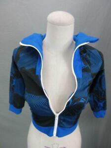 Adidas Size S(4-5) Boys Navy Athletic Spiderman Performance Full Zip Hoodie T831