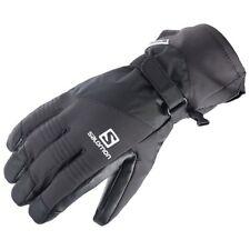 Salomon Propeller Plain Dry Skiing Gloves - Mens - Black - Medium
