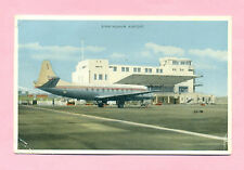 BIRMINGHAM - AEROPORT / AIRPORT / AVION : VISCOUNT BRITISH EUROPEAN AIRWAYS BEA