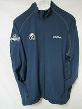 Buffalo Sabres Mens Size Large or X-Large Stretch Track Jacket A1 2675