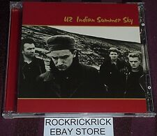 U2 - INDIAN SUMMER SKY -2 CD SET RARE CD-