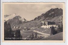 AK Hirschegg mit Widderstein, Sporthotel, 1937