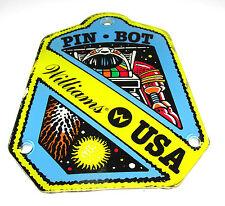 Williams USA PIN BOT Pinball Machine Promotional Plastic Key Chain Fob 1986